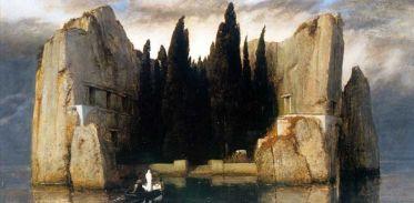 Arnold Boecklin, Isola dei morti, terza versione, 1883