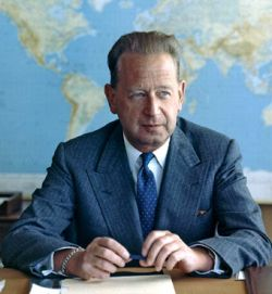 Dag Hammarskiold, politico e statista (1905-1961)