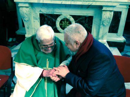 Arturo Paoli e Enzo Bianchi
