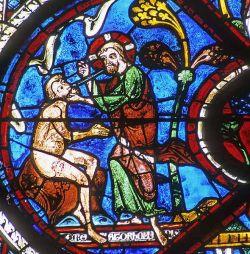 Chartres - vetrata