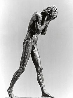 1929, bronzo - cm 62,5x21x39