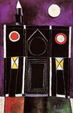 1957, Olio su tela cm 60x41