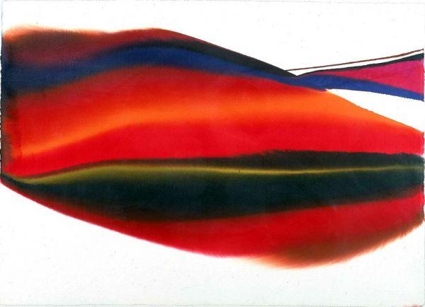 Paul Jenkins , Phenomena Lands End, 1974