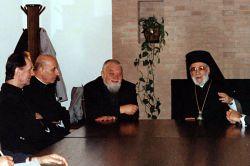 le patriarche grec-orthodoxe d'Antioche, Ignace IV