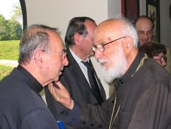 Nicolas Lovsky et le métropolite Emilianos Timiadis
