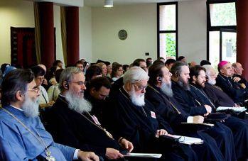 Vescovi e Metropoliti presenti ai lavori del Convegno