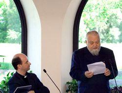 STEFANO RUSSO, Rome et ENZO BIANCHI, prieur de Bose