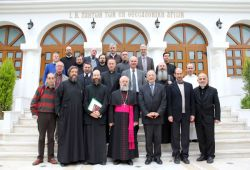 Saint Ireneus group in Thessalonica for the official dialogue betwenn the Catholic church and the Orthodox churches