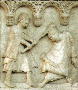 WILIGELMO, Caino e Abele, XII sec.