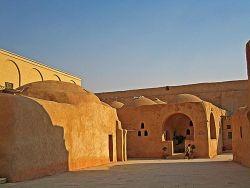 Scorcio di un monastero copto