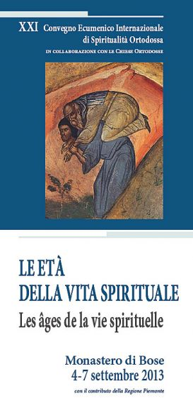 Convegno 2013 Le età della vita spirituale