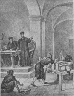 TORTURA DI FRANCISCA, Libro Rojo, 1870