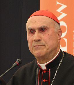 il Cardinale Tarcisio Bertone, segretario di stato di Sua Santità