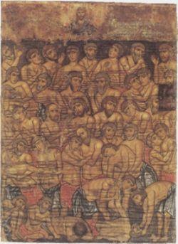 I QUARANTA MARTIRI DI SEBASTE, icona del XIII sec.