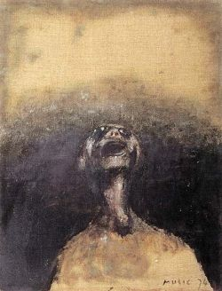 acrilico su tela, cm 65x50 - 1974