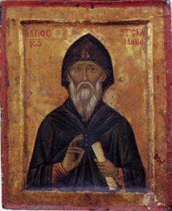 GIOVANNI CLIMACO, icona del XV sec.