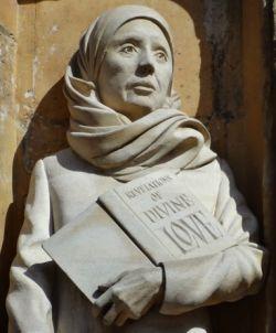 Statua di Giuliana, Cattedrale di Norwich