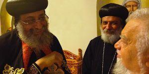 Tawadros II, Anba Kyrolos e fr. Enzo Bianchi