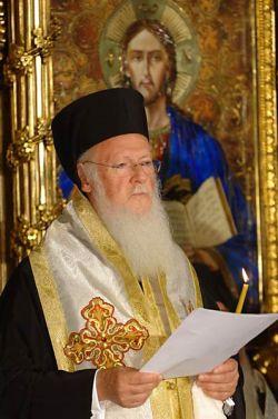 Bartholomeos I, Patriarca Ecumenico di Costantinopoli