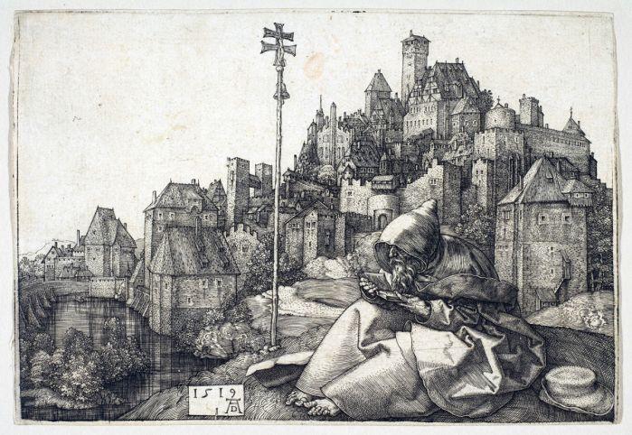 Albrecht Dürer, Antonio in preghiera, 1519.