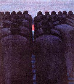 1960, Olio su tela, (particolare)