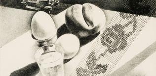 Louis Lozowick, colazione, 1929.