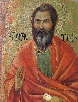 APOSTOLO MATTIA, Duccio di Buoninsegna
