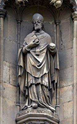 ANSELMO DI AOSTA, cattedrale di Canterbury
