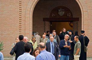 Partecipanti al convegno del monastero di Bose