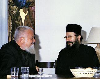 L'igumeno del Sacro Monastero di Simonos Petras, Archimandrita Elisseos