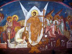 Affresco del Monastero di Deciani, Serbia