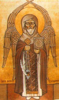 TAKLA HĀYMĀNOT, icona copta del XX sec.