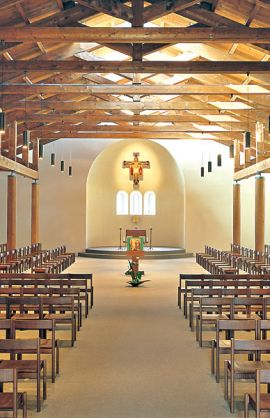 Bose, Monastic church