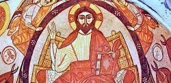 Cristo Pantocratore, Chiesa del monastero di sant'Antonio il grande, XII secolo.