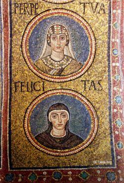 Mosaico del V sec., Ravenna
