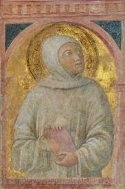 Bernardo Tolomei, affresco del 1456