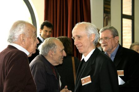 Mario Federico Roggero, p. Frédéric Debuyst, mons. Giancarlo Santi e prof. Robert F. Taft