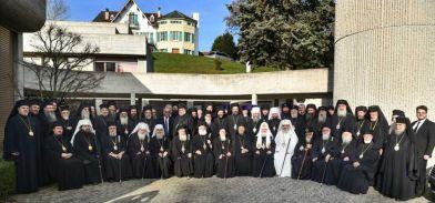Os Primazes das 14 Igrejas ortodoxas no encontro de Genevra