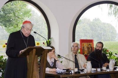 il Cardinale Achille Silvestrini, Prefetto emerito della congregazione per le Chiese Orientali