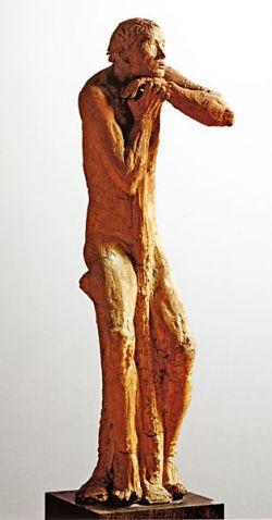 Clay, cm 173,5x37,5x51 (Rome, GNAM)