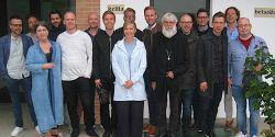 Il gruppo di pastori e preti scandinavi con Peter Halldorf