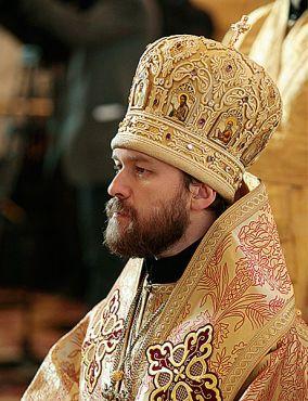 + Hilarion, Metropolita di Volokolamsk, Presidente del Dipartimento per le relazioni esterne del Patriarcato di Mosca