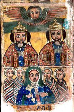 ABBĀ SĀLĀMA, miniatura etiope