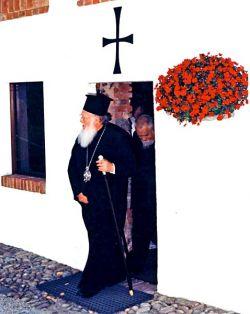 Bartholomeos I, Patriarca Ecuménico de Constantinopla em Bose, Outubro 1997