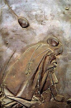 Door of the death, upper left panel, 91x61 cm - Vatican City