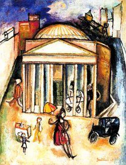 Olio su tela, collezione privata, Roma
