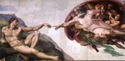 Creazione di Adamo, Michelangelo Buonarroti (1510)