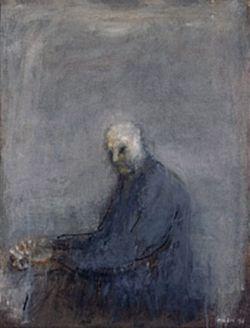 1997, olio su tela, 116 x 89 cm, Collezione Privata, © Zoran Antonio Music - by SIAE 2009