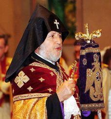 Sua Santità KAREKIN II, Patriarca Supremo e Catholikos di tutti gli Armeni