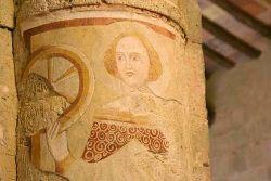 Affresco di Santa Caterina da Siena